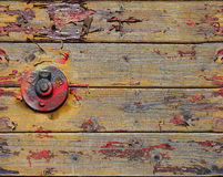 Old battered planks Stock Photography