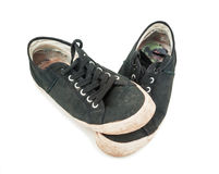 Old battered shoes Royalty Free Stock Image