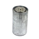 Old battery Stock Image
