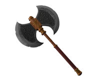 Old battle axe Royalty Free Stock Photos