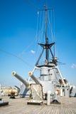 Old Battleship Royalty Free Stock Photos
