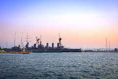 Old Battleships Royalty Free Stock Photography