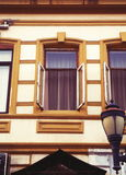 Old Batumi houses Stock Photography