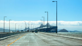 The Old Bay Bridge in San Francisco Royalty Free Stock Photography