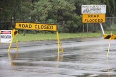 Old bay road closed Burpengay Royalty Free Stock Photos