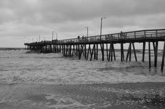 Old beach Peer Stock Photography