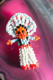 Old beaded indian toy Stock Photography
