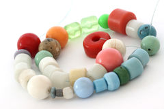 Old beads Royalty Free Stock Photography