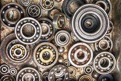 Old bearing background. Very interesting technology bearing background with circles Royalty Free Stock Image