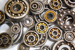 Old bearing background. Very interesting technology bearing background with circles Stock Images