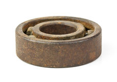 Old bearing on a white background Royalty Free Stock Photography