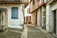 Old Bearn style buildings in the ancient street Royalty Free Stock Photography