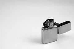 Old Beat Up Lighter Stock Photography