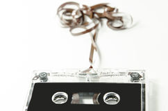 Old and beautiful audio tape Stock Photos