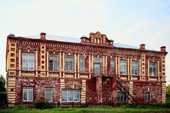 Old beautiful building somewhere province. Russia royalty free stock photography