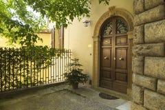 Old beautiful city in Tuscany, Italy Stock Photography
