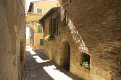 Old beautiful city in Tuscany, Italy Royalty Free Stock Images