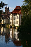 Old beautiful German city Royalty Free Stock Photos