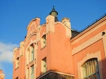 Old beautiful home, Latvia Stock Image
