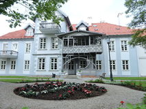 Old beautiful home, Lithuania Stock Images