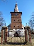 Old beautiful lutheran church, Lithuania Royalty Free Stock Photos