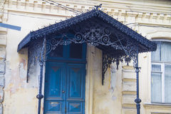 Old beautiful porch Royalty Free Stock Photo