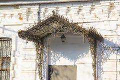 Old beautiful porch Stock Photos