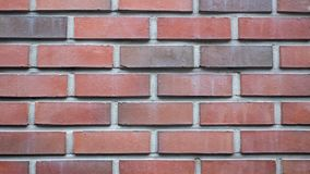 Old beautiful red brick, free space for text. stock photo