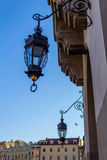 Old, beautiful street lamp, Cloth Hall, Krakow, Poland Royalty Free Stock Photo