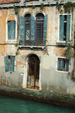 Old beautiful Venice house on the water, Italy Royalty Free Stock Photo