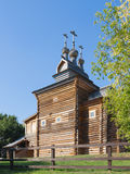 Old beautiful wooden church Stock Image