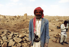 Old bedouin Stock Images