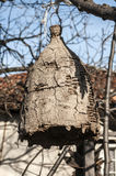 Old beehive for wild bees Royalty Free Stock Photo