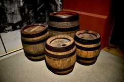 Old beer barrel Royalty Free Stock Images
