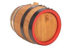 Old beer barrel Stock Images