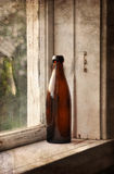 Old beer bottle Royalty Free Stock Image