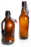 Old beer bottles Royalty Free Stock Photos