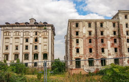 Old beer factory ruins from Bucharest Stock Image