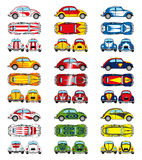 Old beetle fantasy icons Royalty Free Stock Image