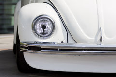 Old beetle head light Stock Image