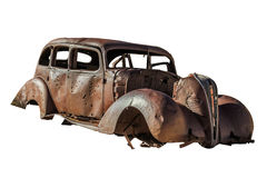 Old Beetle wreck stock photos
