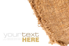 Old beige canvas Royalty Free Stock Photos