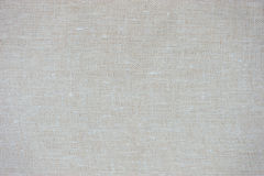 Old beige canvas texture Stock Image