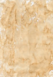 Old beige creasy paper. Texture of the old beige creasy paper Stock Photo