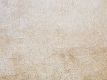 Old beige painted wall Stock Image