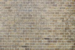 Old beige red brick background Royalty Free Stock Photography