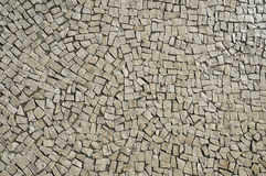 Old beige stone pavement background Stock Photography