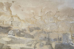 Old beige stone wall background texture royalty free stock photo