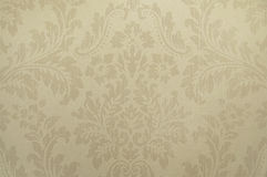 Old beige wallpaper background texture Royalty Free Stock Photos