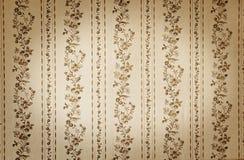 Old beige wallpaper Stock Images
